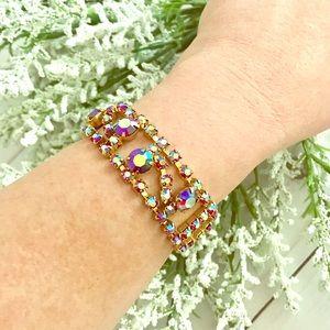 Jewelry - Vintage Multi Colored Gemstone Bracelet